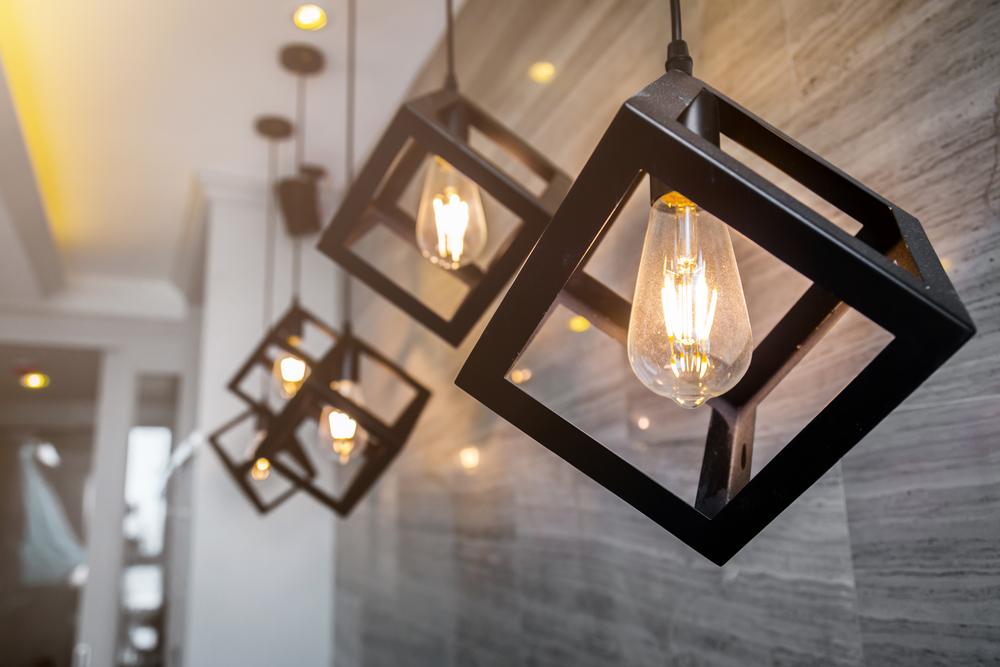modern electric lighting