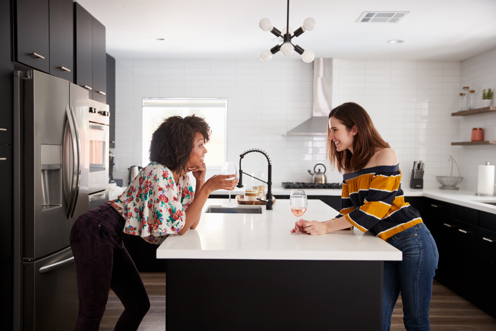 Different options for kitchen island sockets