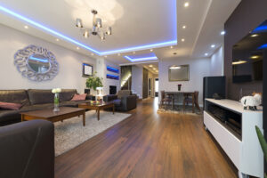 modern home lighting